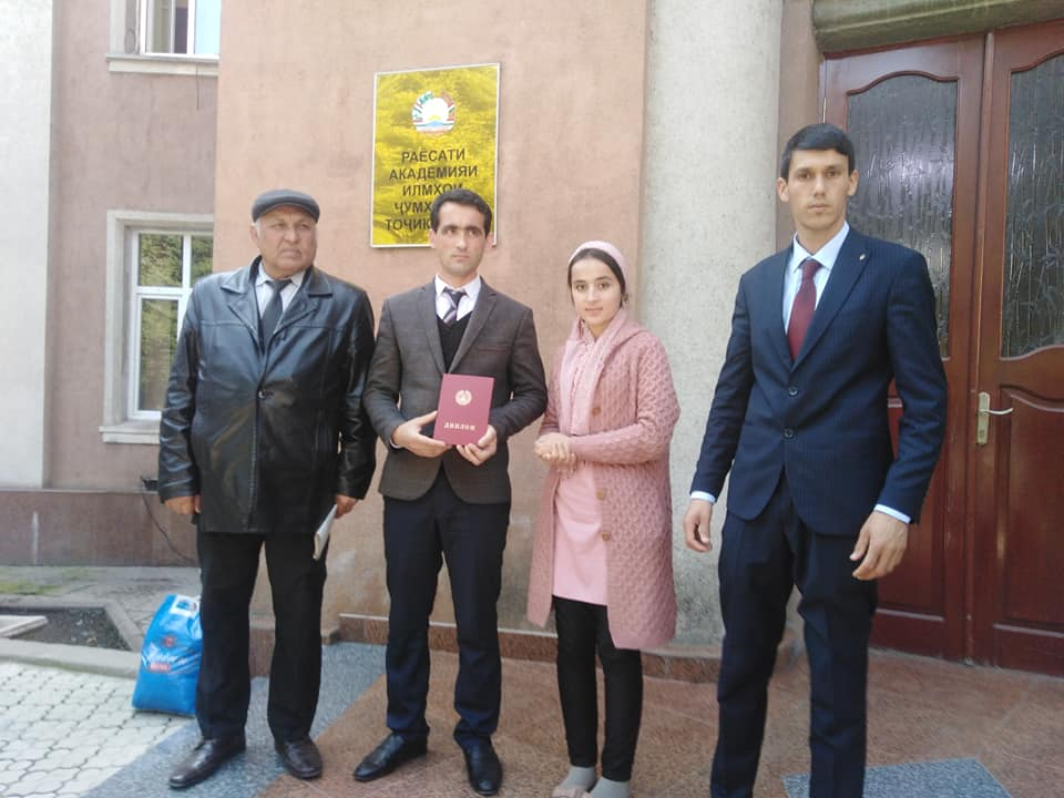 Иштироки донишҷуёни донишкада дар Ҷоми Академияи илмҳои Ҷумҳурии Тоҷикистон